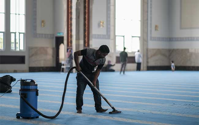 Places of worship cleaning